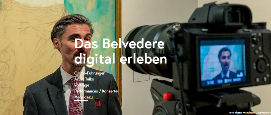 Online – Stream: Belvedere digital