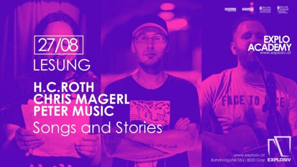 Songs and Stories – Autoren: H.C. ROTH (A); CHRIS MAGERL (A); PETER MUSIC (A) | Musik, Erzählung